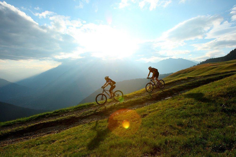 Ländliches Ambiente auf dem Ferienbauernhof in Südtirol